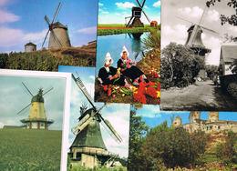 Lot 42 AK Motiv Windmühle - Molen - Cartes Postales