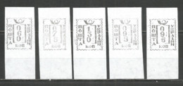 Ukraine Kiev ( 5 ) Lokal Provisory 1993 Mint Stamps  5v - Oekraïne