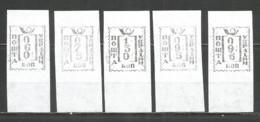 Ukraine Kiev ( 5 ) Lokal Provisory 1993 Mint Stamps  5v - Ucrania