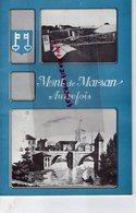 40- MONT DE MARSAN AUTREFOIS- RARE BULLETIN MUNICIPAL N° 2- JUIN 1966-LAMARQUE CANDO MAIRE-BAJARD-ROUMAT-LUCBERNET-PALIS - Historische Dokumente