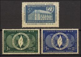 16-18 UNO New York Jahrgang 1952 Komplett, Postfrisch ** - Unclassified