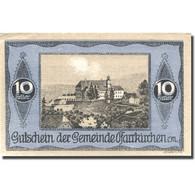 Billet, Autriche, Pfarrkirchen 10 Heller, Village, SPL Mehl:FS 744IIIb - Austria