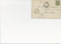 France Colonies TUNISIE. N°22 Obl. Bov.Ficha 8.11.03 S/CP TRIEL. TB - Tunisie (1956-...)