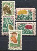 MAURITANIE ( POSTE ) : Y&T  N°  241/245  TIMBRES  NEUFS  SANS  TRACE  DE  CHARNIERE . - Mauritanie (1960-...)