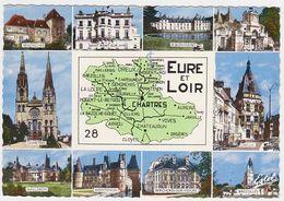 EURE-ET-LOIR - Multivues - Carte Départementale - Zonder Classificatie