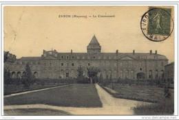 "Cachet ""EVRON-GARE MAYENNE 1921"" Indice Pothion=5 Semeuse - Poste Ferroviaire"