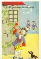 TROIS JEUNES TAMBOURS / CARTE SYSTEME (LA FENETRE S'OUVRE) - Fairy Tales, Popular Stories & Legends