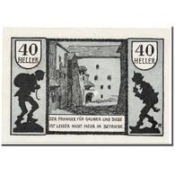 Billet, Autriche, Schärding, 40 Heller, Ruelle, 1920, 1920-04-30, SPL, Mehl:951 - Austria