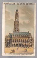 D082 - CHROMO CHOCOLAT GEURIN BOUTRON - HOTEL DE VILLE D'ARRAS - Guerin Boutron