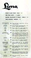 Catalogue LIMA 1962 CIRCUITI LAYOUTS RESEAUX GLEISPLÄNE 1/10 - En Italien, Anglais, Français Et Allemand - Français
