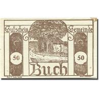Billet, Autriche, Buch, 50 Heller, Chemin, 1920, 1920-10-30, SUP+, Mehl:FS 113b - Austria