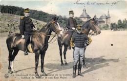 Belgique - Namur - Le Lt Général Gouverneur De La Position Fortifiée De Namur 1905 à La Citadelle - Couleurs - Namur