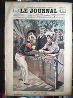 Le Journal Pour Tous 21 Septembre 1898 La Vertu Au Village La Rosiere Pompier  Dessin Bac - Journaux - Quotidiens