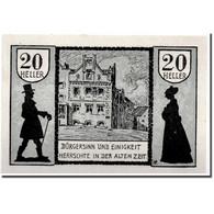 Billet, Autriche, Schärding, 20 Heller, Paysage, 1920, 1920-04-30, SPL - Austria