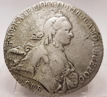 RUSSIA. Caterina II La Grande, 1762-1796. Rublo 1765, Zecca Di San Pietroburgo D.369 - Russia