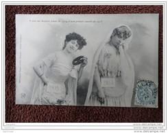"""Rare Cachet Perle """"MEILLAC ILLE ET VILAINE1904"""" Blanc Indice Pothion=10 Pour St Domineuc (Ille Et Vilaine) - Cachets Manuels"""