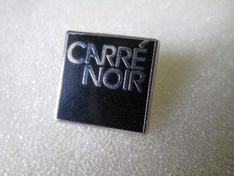 PIN'S     CARRE NOIR   PUBLICIS  FRANCE - Marcas Registradas