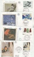 France Lot 41 Enveloppes FDC Sur Soie De 1995 Dont Tableaux   Etc Toutes Différentes ( Timbre Ou Cachet ) 11 Scan - FDC
