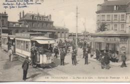 59 DUNKERQUE PLace De La Gare  - Station De Tramways - Dunkerque