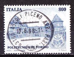 Italia  1998 -Politecnico Torino - Usato-Oggetto Simile - 6. 1946-.. Republik