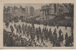 59 LILLE Transport Gefangener Englander Durch - Lille