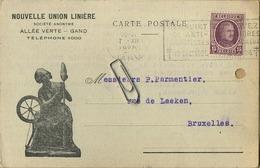 GENT - GAND :  Nouvelle Union Linière   1925 - Gent