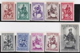 Belgie    .  OBP    .    583/592     .     **     .     Postfris   .   /   .  Neuf SANS Charniere - Unused Stamps