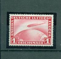 Deutsches Reich, Zeppelin über Weltkugel, 455 Falz * - Gebraucht