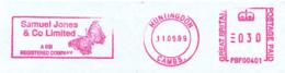 Freistempel 1750 Schmetterling - [7] República Federal