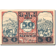 Billet, Autriche, Anzbach, 50 Heller, Village 1920-09-15, SUP+ Mehl:FS 48IAf - Austria
