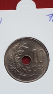 10 Centimes 1921 Fr In FDC - 1909-1934: Albert I