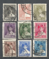 Romania 1928 Used Stamps Set - 1918-1948 Ferdinand I., Charles II & Michel