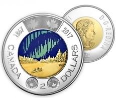CANADA - KANADA - 2 DOLLARS DOLLAR DOLLARO BI-METAL BI-METALL BIMETALL 150th ANNIVERSARY OF CONFEDERATION COLOR UNC 2017 - Canada