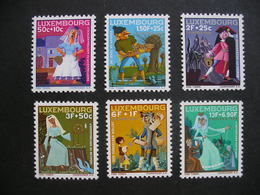 LUXEMBOURG Fairy Tales 1966 MNH - Unused Stamps