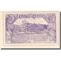 Billet, Autriche, Hafkirchen, 10 Heller, Château, 1921 SPL Mehl:FS 387I - Austria