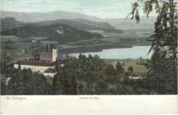 Cartolina Austria 1900/10 St. Georgen Schloss Mit See - Austria