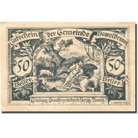 Billet, Autriche, Desselbrunn, 50 Heller, Chevalier, 1920, SPL Mehl:FS 119a - Austria