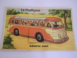 C.P.A.- Le Pouliguen (44) - Carte à Système - Admirez Aussi - 10 Vues - 1935 - SUP (CB 46) - Le Pouliguen