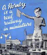 Catalogue HORNBY 1938? Real Railway In Miniature Edition Canada/English - Boeken En Tijdschriften
