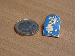 PIN'S. EDF CAS METZ. EGF. - EDF GDF