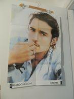 POSTER BIG COLLEZIONE KISS ME ORLANDO BLOOM + LOVE & PEACE 55X80 - Altre Collezioni