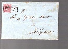 Preussen 1860 STETTIN > Torgelow (Vorpommern-Greifswald ) (788) - Prussia