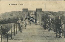 Wijnegem :  Fort I    (  Geschreven Met Zegels Albert I  ) - Wijnegem