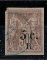 REUNION      N°  YVERT    7   OBLITERE       ( OB   2/38 ) - Reunion Island (1852-1975)