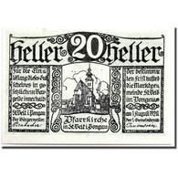 Billet, Autriche, St Viet Im Pongau, 20 Heller, Ecusson, 1920, 1920-08-01, SPL - Austria
