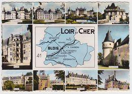 LOIR-ET-CHER - Multivues - Carte Départementale - Zonder Classificatie