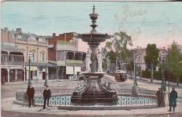 Alexandra Fountain, Bendigo, Victoria - Vintage, Posted With Stamp, 1908 - Bendigo