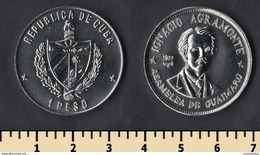 Cuba 1 Peso 1977 - Cuba