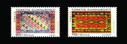 AC - TURKEY STAMP  -  TRADITIONAL TURKISH ARTS - RUG MNH 17 NOVEMBER 2010 - 1921-... República