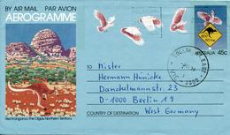 MELBOURNE - 1988 , Aerogramme - Nach Berlin - Entiers Postaux